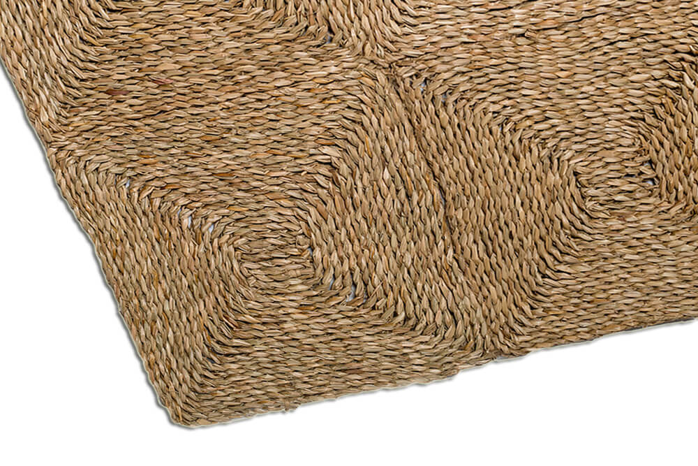 Seagrass Squares Rug Uniquely Modern Rugs